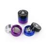 Grinder metallo colorato (4 parti)