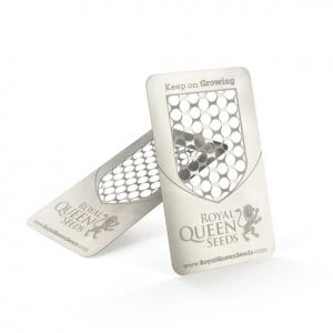 Grinder Card con logo RQS