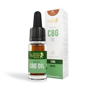 Olio 5% CBG e 2,5% CBD