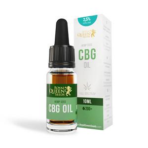 Olio 2,5% CBG e 2,5% CBD