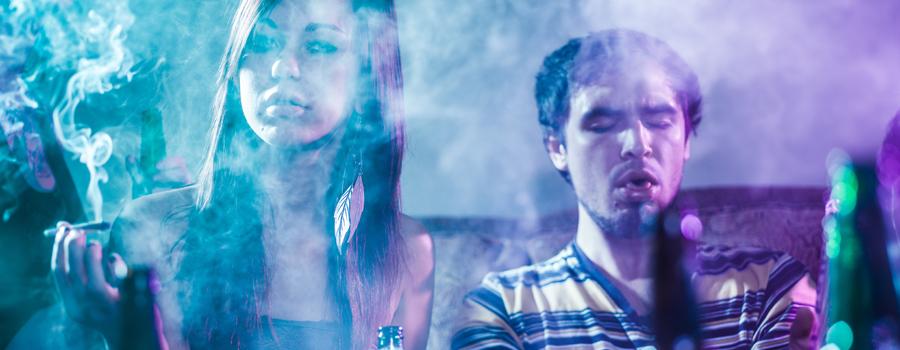 Combinazione di alcol e cannabis