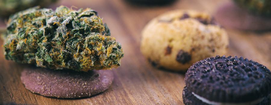 Biscotti caseari di cannabis