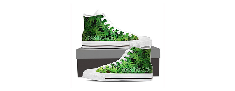 Sneakers Di Design Di Cannabis