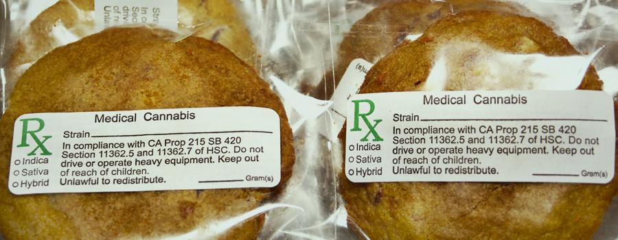 I biscotti di cannabis regolati