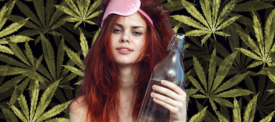 sbornia idratazione erbaccia cannabis acqua