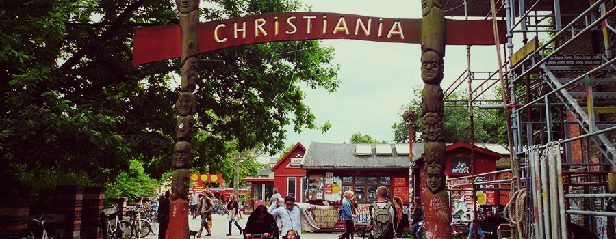 Christiania Danimarca Copenhague Cannabis Freetown