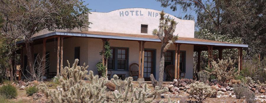 Nipton Hotel California canna turismo