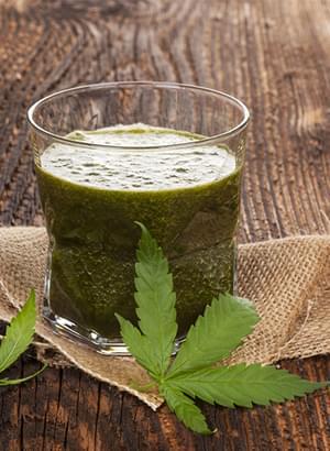 Marijuana Frullato Crudo