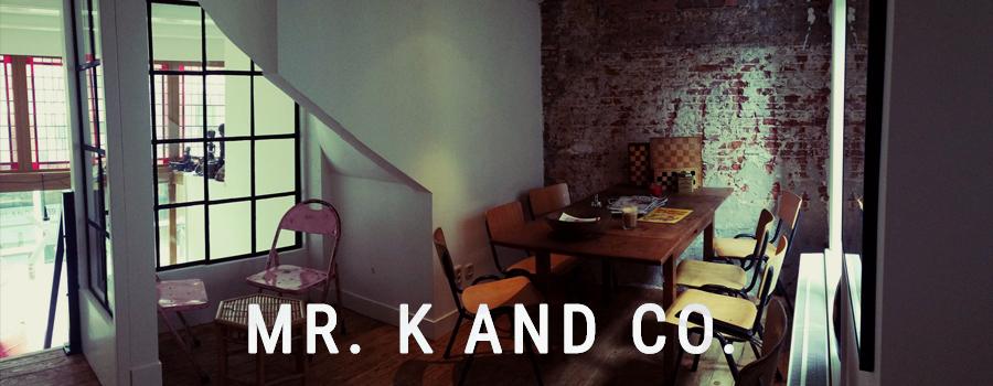 Mr K and C coffeeshop Amsterdam