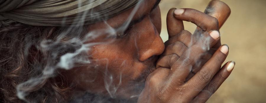 Tradizionale Charas Cannabis Hashish