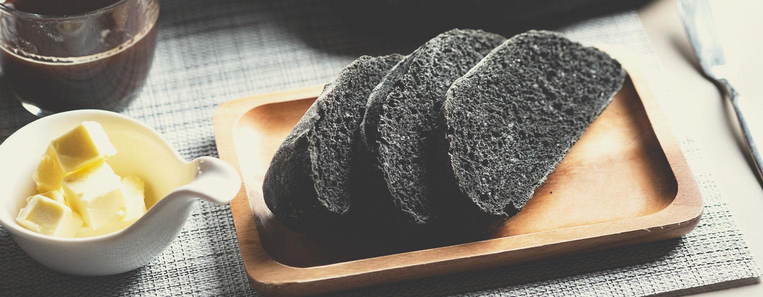 Ricetta del pane al carbone
