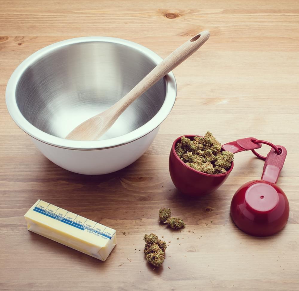 cannabis maionese infuso marijuana sana ricetta commestibili