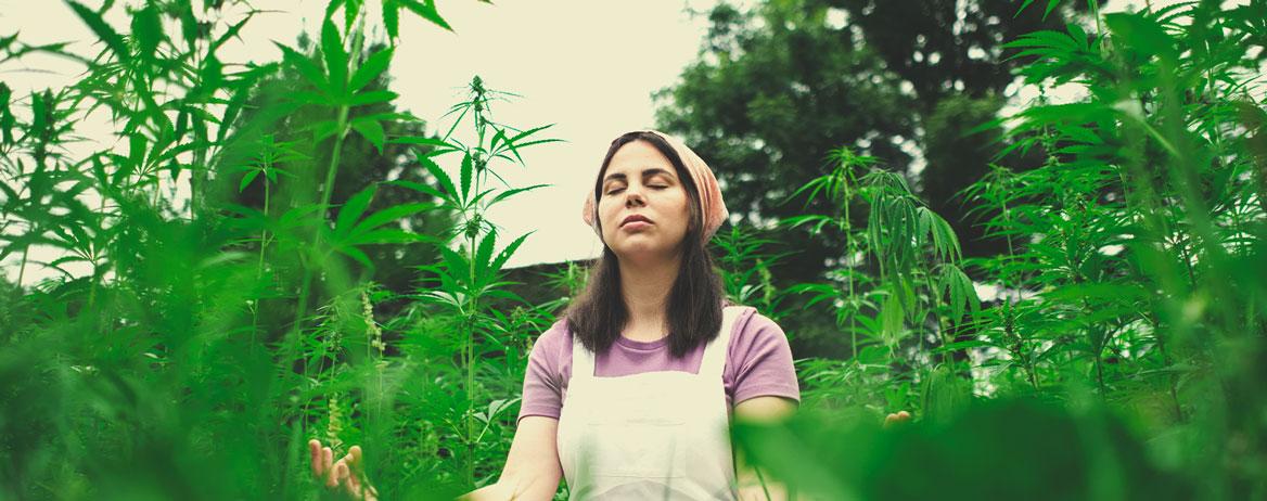 Puoi condividere con noi una pratica che potremmo adottare per meditare con la cannabis?