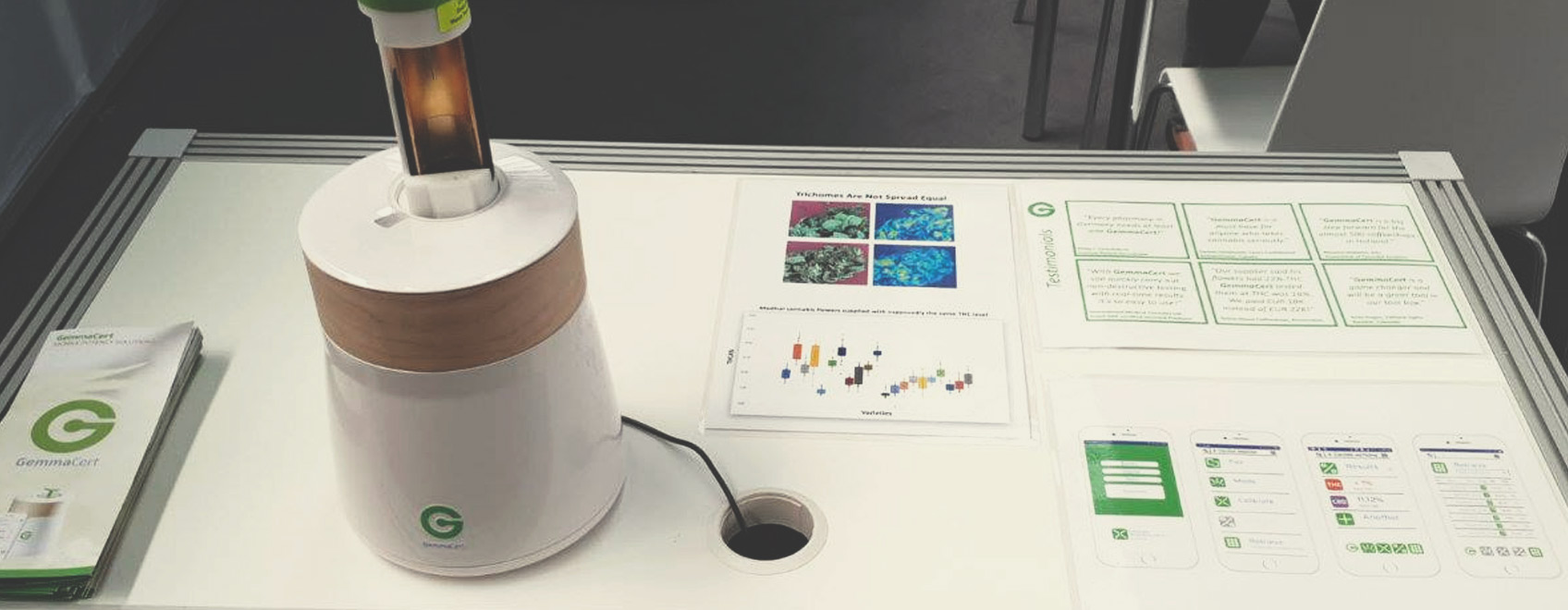 Gadget per testare la cannabis