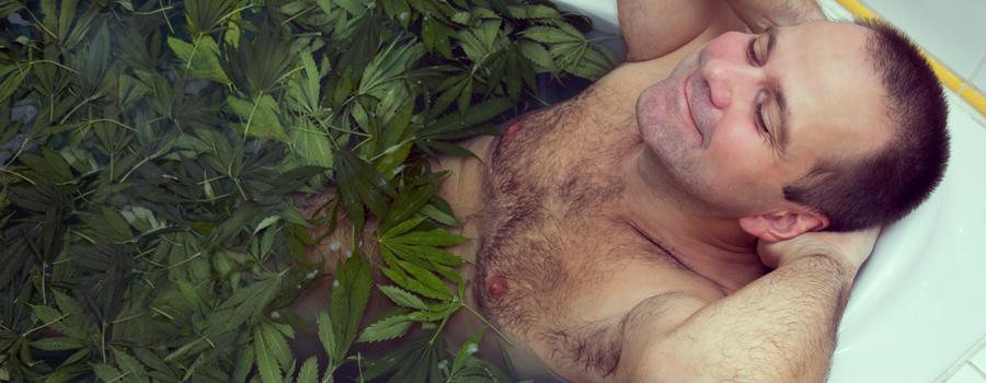 Sonno riposo di cannabis